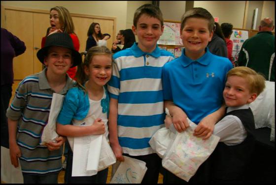 Danny az osztálytársaival