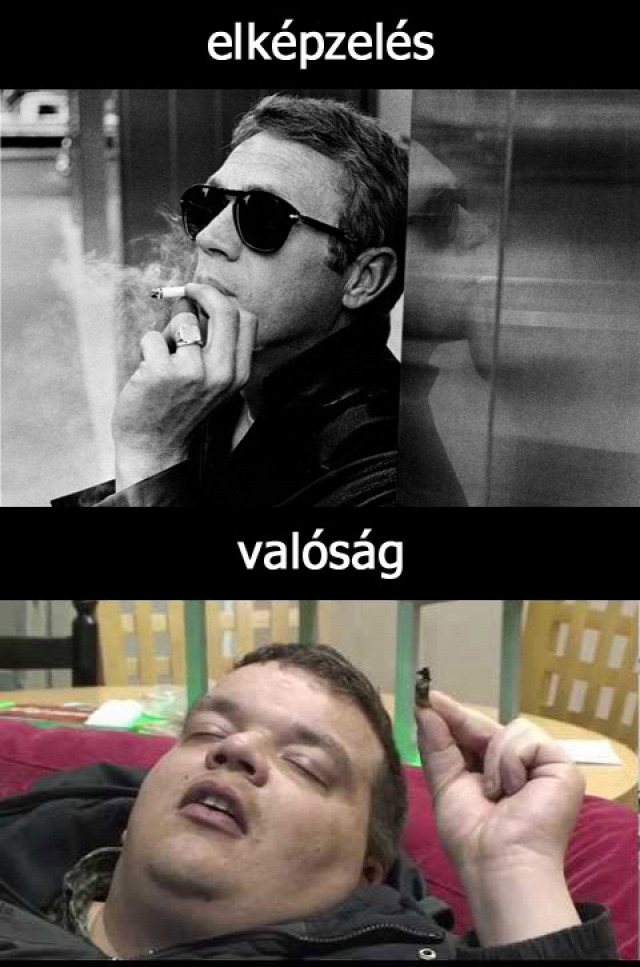 szokás dohányzás mark twain káros