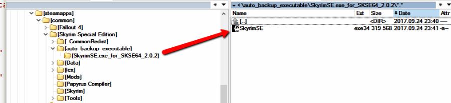 SkyrimSE exe Auto-Backup at Skyrim Special Edition Nexus - Mods and