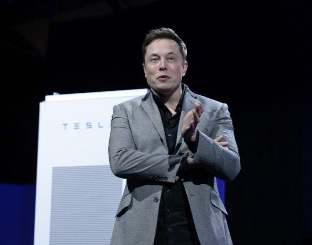 Elon Musk / Forrás: AFP