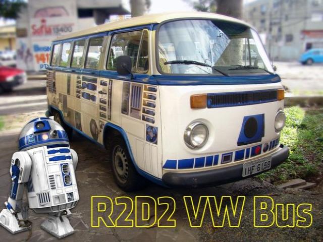 Együtt gurulhat R2D2 és a hippibusz