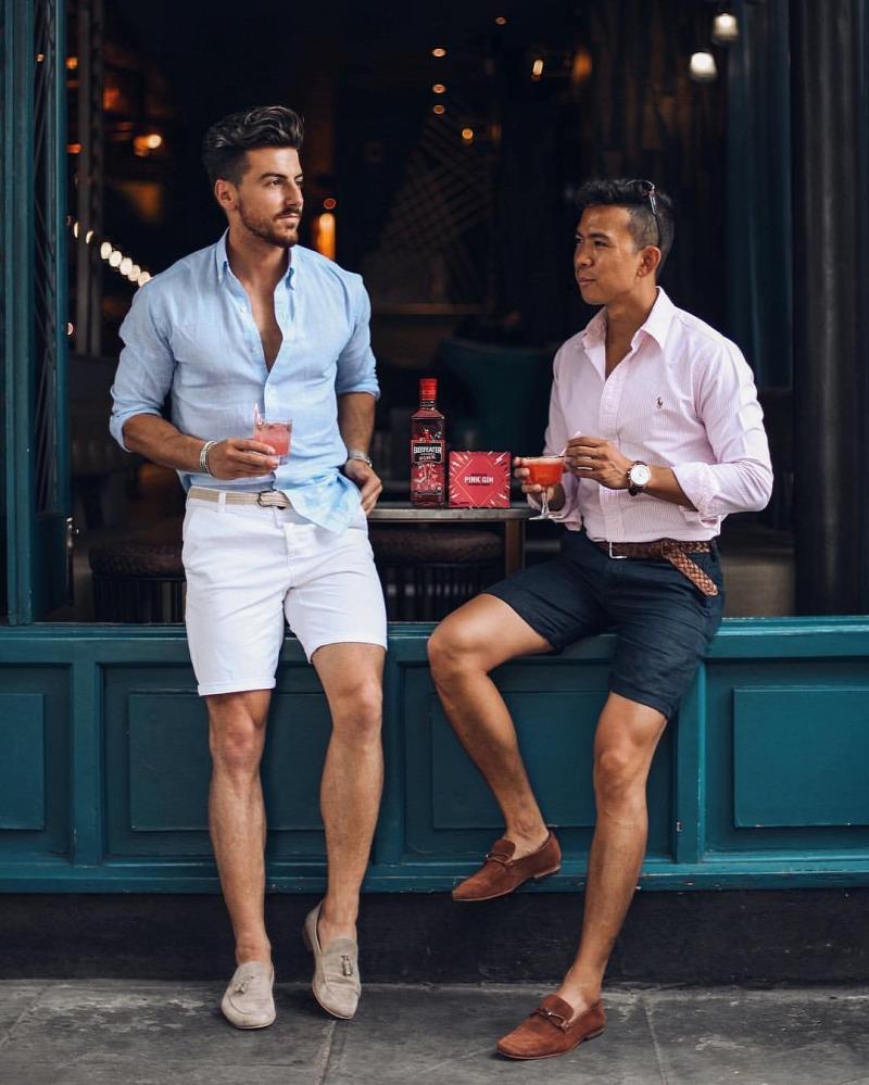 rövidnadrág  térdnadrág  nyári outfitek