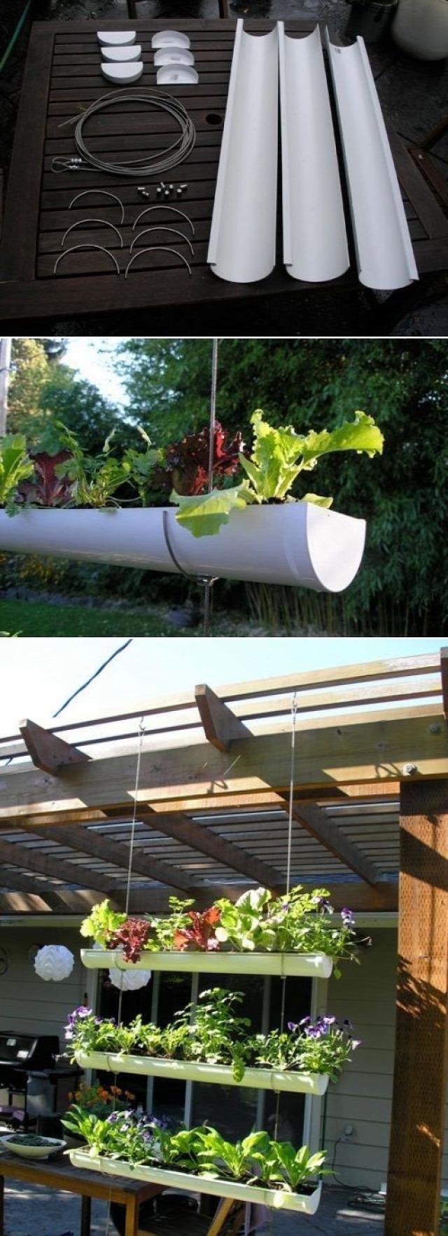 függőleges kert DIY inspiráció