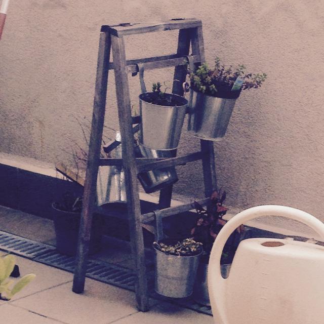 függőleges kert létra bútor
