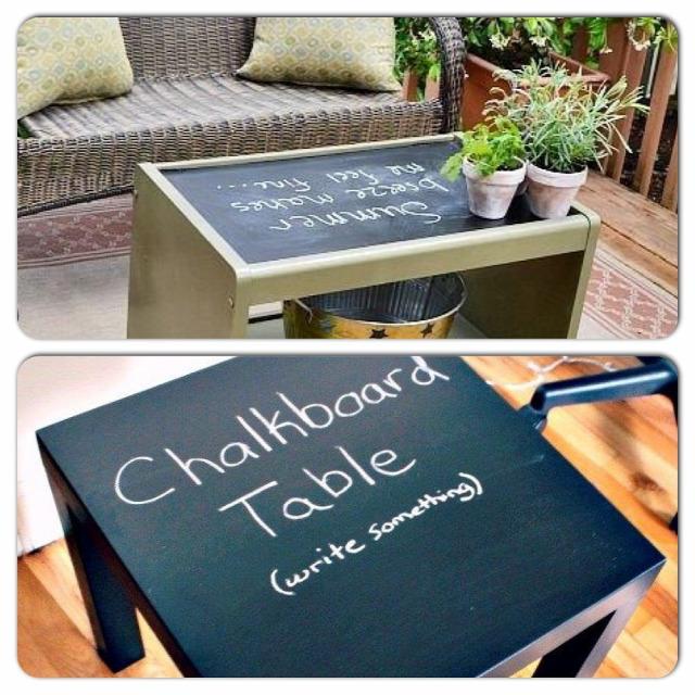 Krétás asztal