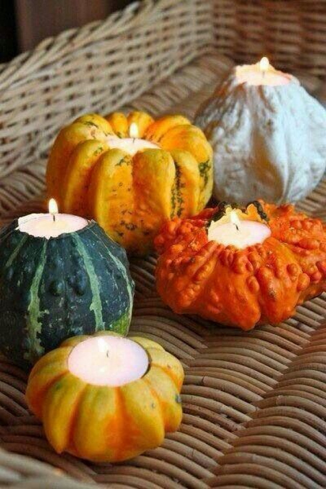 ősz dekor tök