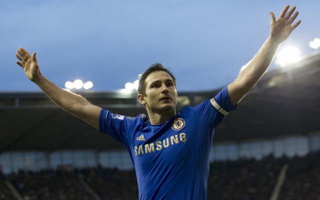 Frank Lampard angol foci angol futball Chelsea besztlíg Premier League Bajnokok Ligája Lac