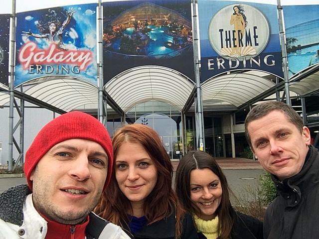2015 Therme Erding Erding Bakancslista Németország élmény