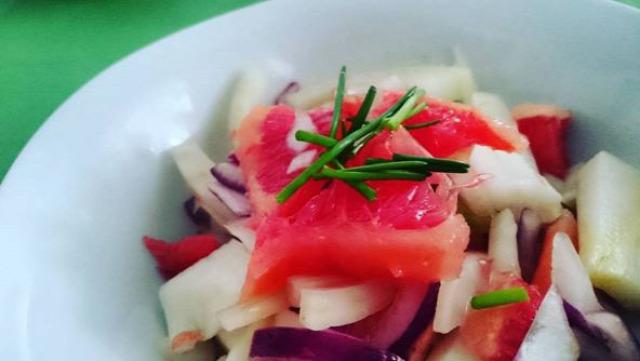 saláta édeskömény paleo vegán mindenmentes