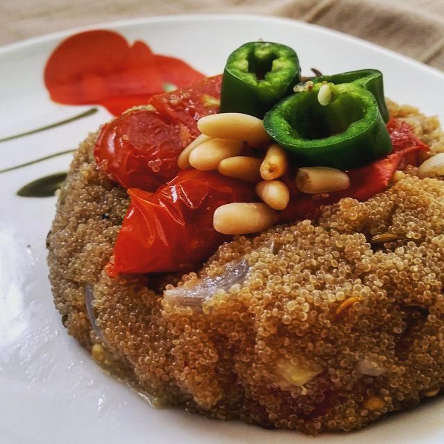 amaránt padlizsán paradicsom nagyon finom paleo vegán mindenmentes diétás recept gyors ebéd