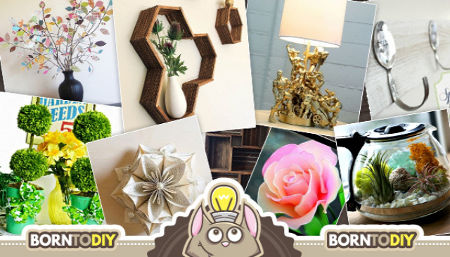 újrahasznosítás filléres olcsó lakberendezés ötlettár dekoráció papír tavasz kreatív ötletek