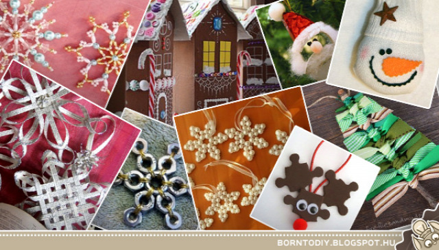 karácsony dekoráció karácsonyi dekoráció ötletgyűjtemény bot ág szalag mécses narancs mikulás télapó csillag hópehely papír újrahasznosítás dekor karácsonyfa ragasztó papírmasé hóember horgolás horgolt karácsonyfadísz ház szív rudolf szarvas puzzle kirakós mézeskalács felső póló gomb pet palack műanyag palack anyacsavar gyöngyfűzés wc papír guriga fa léc deszka filc egérke egér kesztyű