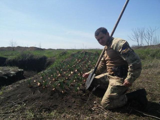 Ukrajna Debalcevo 128-as brigád