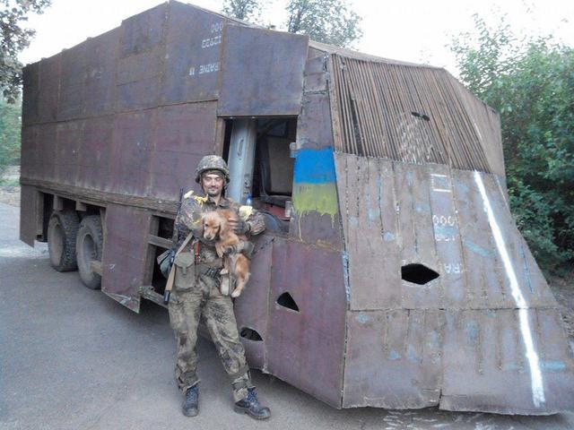 Azov egység saját gyármánya