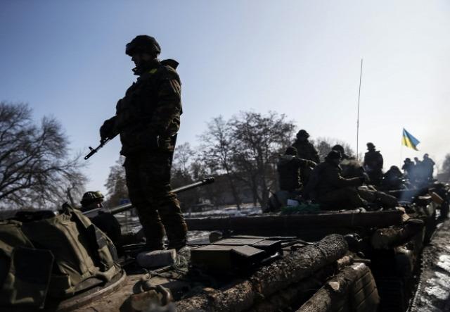 Ukrán katona az ATO-ban