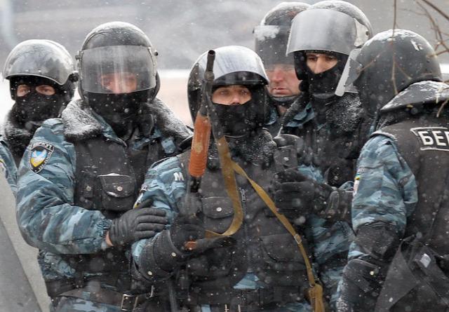 Ukrajna Kijev Janukovics kihallgatás Berkut