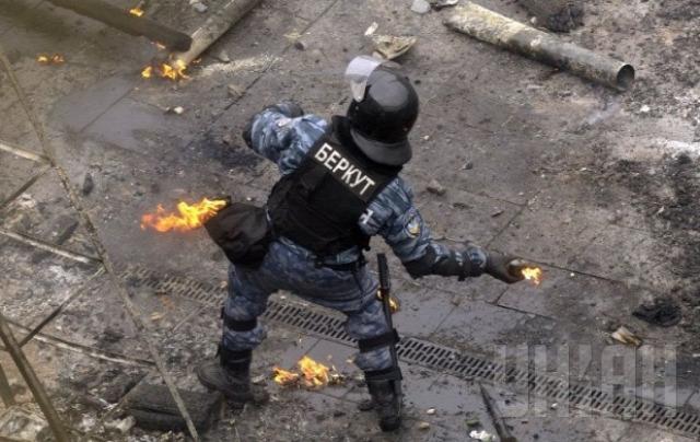 Ukrajna, Berkut Kijev