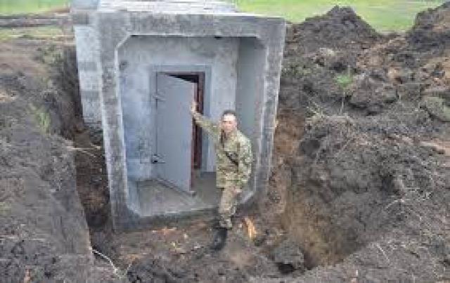Bunker építés Ukrajna
