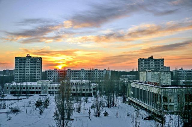 Ukrajna Csernobil zóna Sztalker