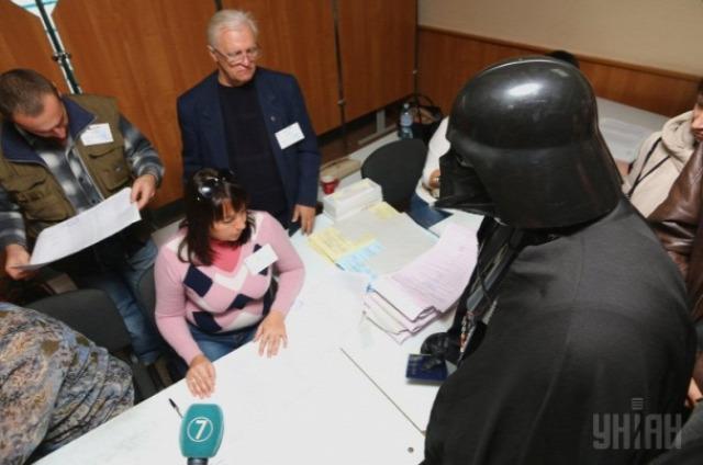 Darth Vader a választáson