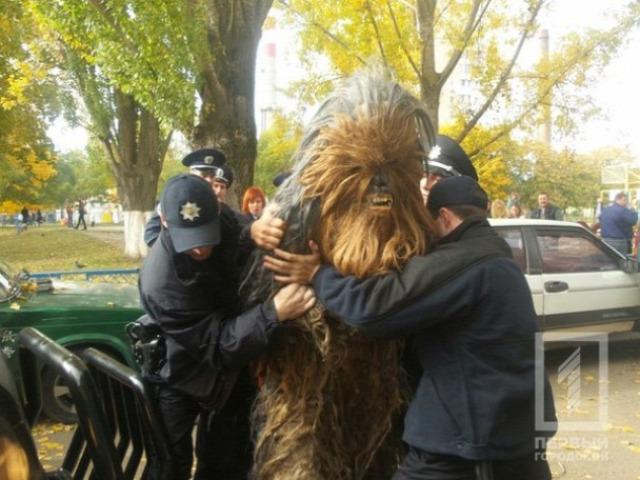 Csubakka letartóztatása Ukrajnában