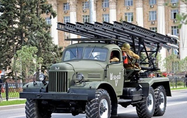 Ukrajna Doneck DNR Zaharcsenkó felvonulás május 9
