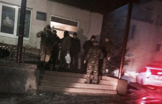 Ukrajna Kárpátalja Rahó Drahobrat Jobb Szektor Pravyj Szektor Nacionalna Policija kiborg