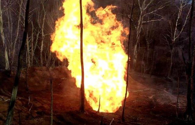 Ukrajna Kárpátalja gázrobbanás Szojuz gázvezeték