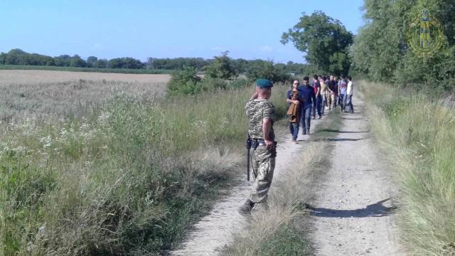 Ukrajna Kárpátalja Kaszony illegális migránsok ukrán-magyar határ határ
