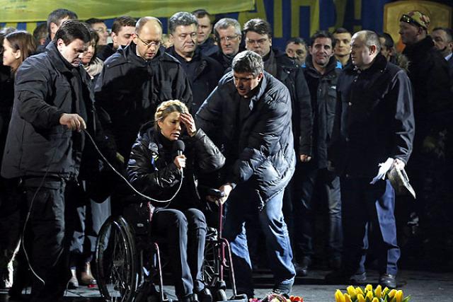 Ukrajna Krím-félsziget megszállása Turcsinov Timosenko ukrán hadsereg védelmi tanács ukrán háború 2014