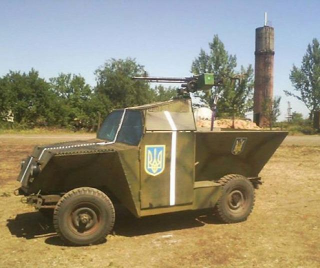 Kis páncélautó Ukrajna
