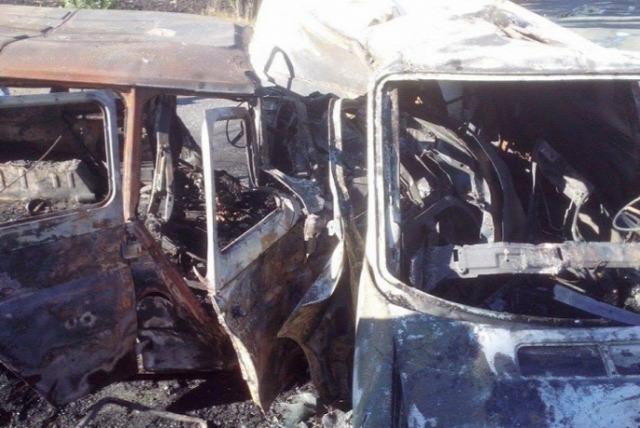 Jobb szektor kiégett autói