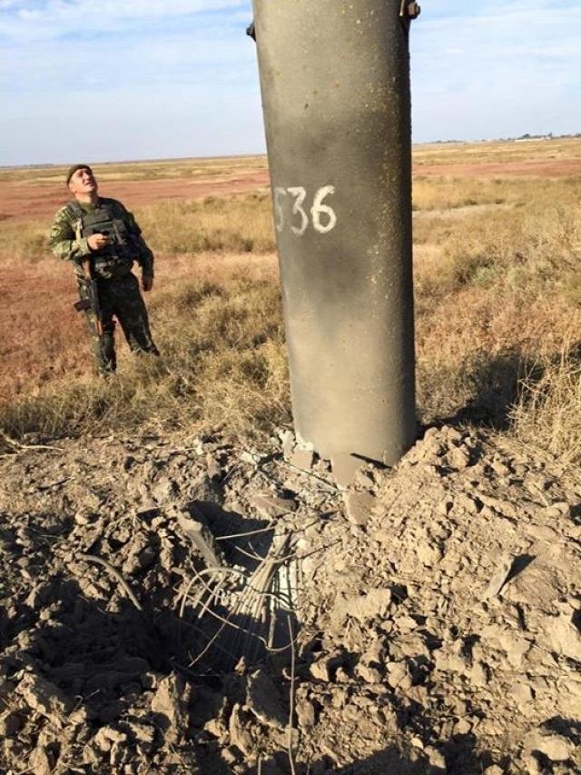 Robbantás Ukrajnában Herszon