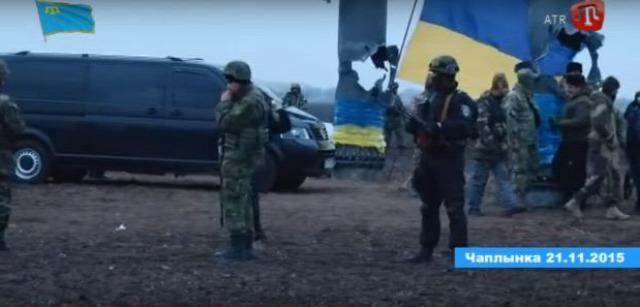 ukrajna Krim krimi tatár Herszon megye terrortámadás terror Nemzeti Polícija Jobb Szektor