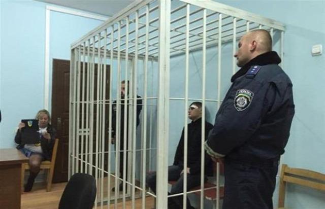 Ukrajna Kárpátalja Jobb Szektor verekedés üdülő Drahobrat