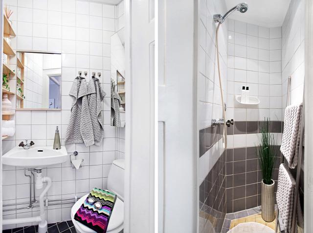 konyha nappali hálószoba otthontúra Európa fürdőszoba kicsi alapterület előtér amerikai konyha erkély Svédország