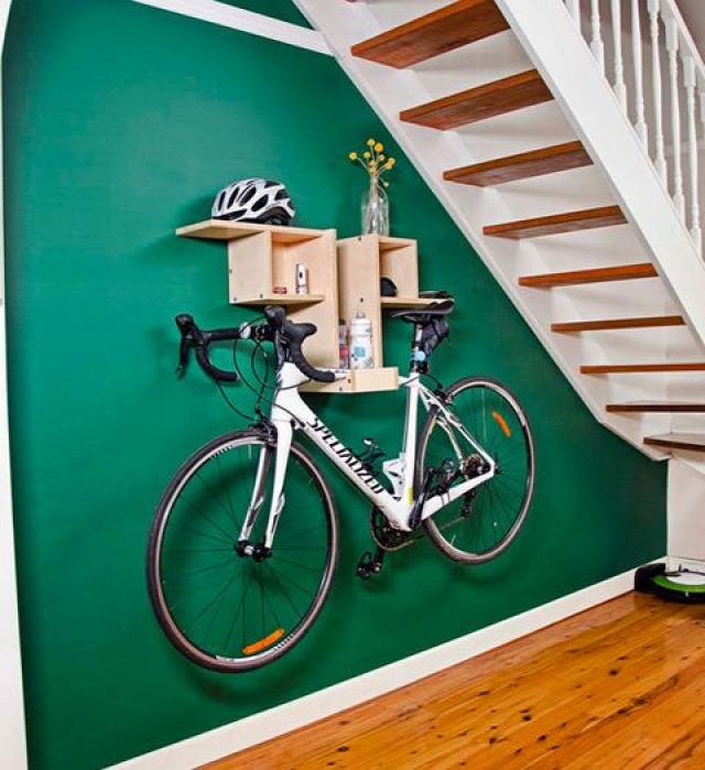 bicikli tárolás DIY