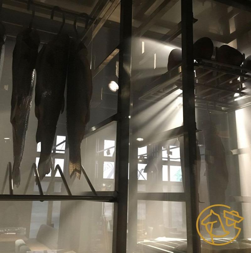 Budapest élményközpont V. kerület étterem pisztráng látványfüstölés kézműves termékek állatbarát hazai hal tájjellegű magyar konyha néprajz múzeum különterem