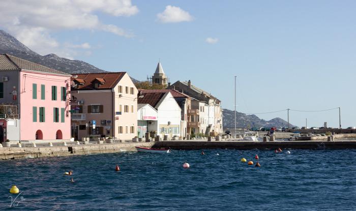 horvát külföld tengeri polip tészta étterem Karlobag