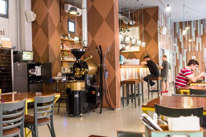 belföld brunch Budapest cupping VII. kerület kávé kávéház menü van pörkölő reggeli