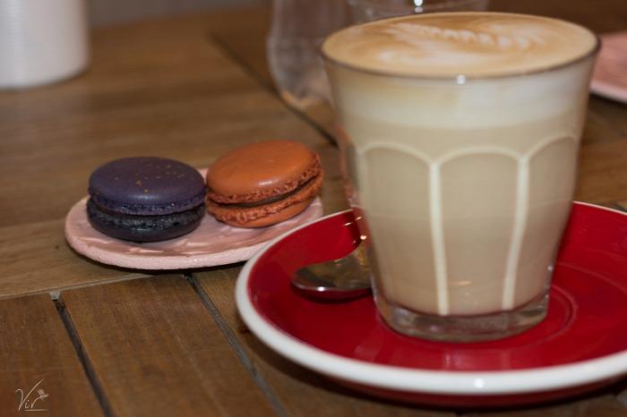 belföld macaron Budapest francia stílus V. kerület kávé kézműves termékek látványkonyha