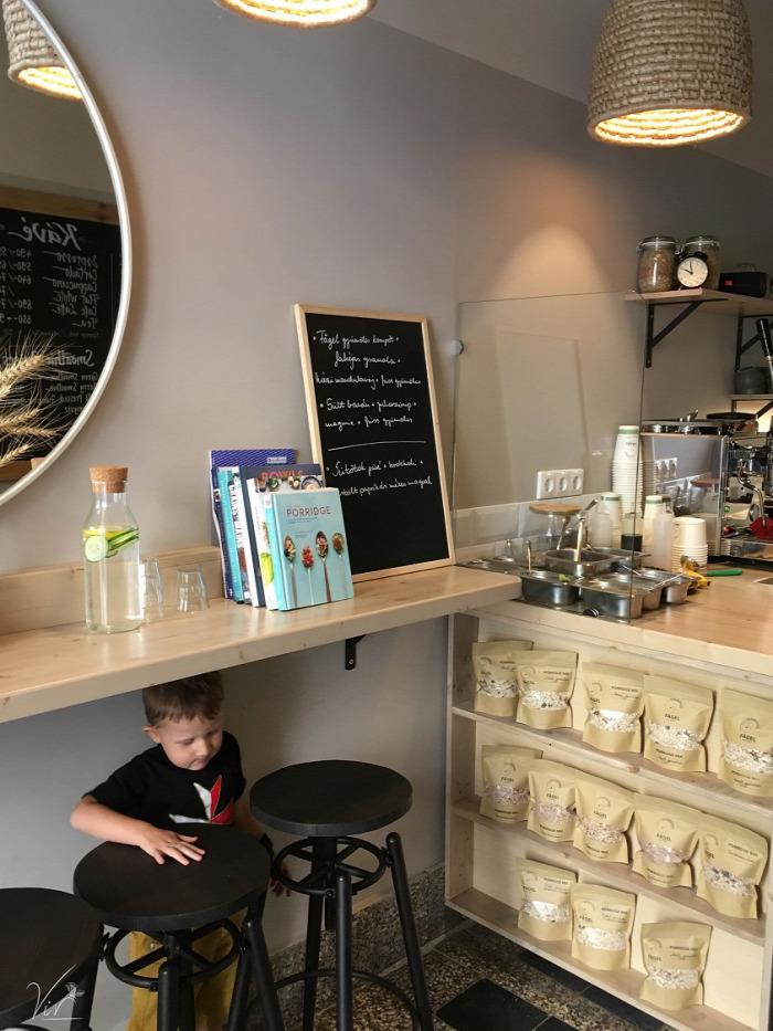 Belföld Budapest V. kerület zabkása brunch reggeli kávé környezettudatos