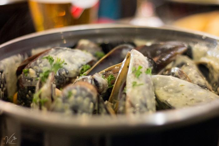 külföld kagyló Arcachon francia konyha hamburger osztriga étterem tengeri