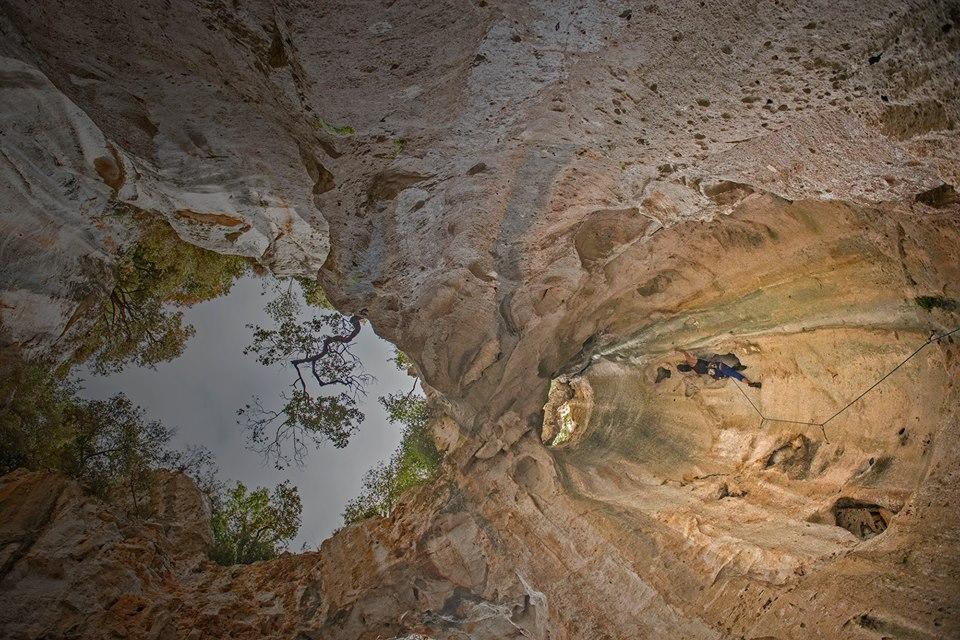 bombolo sziklamászás finale kürtő liguria olaszország mászás
