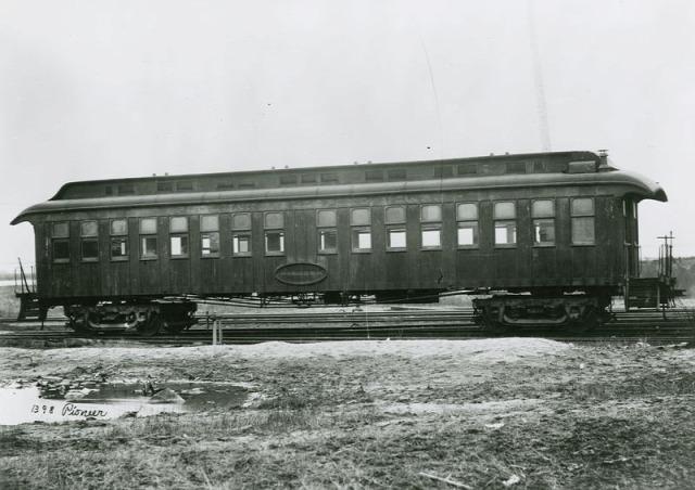 pullman hálókocsi vasút