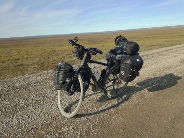 pánamerika szakítás kerékpár
