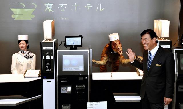 japán robot