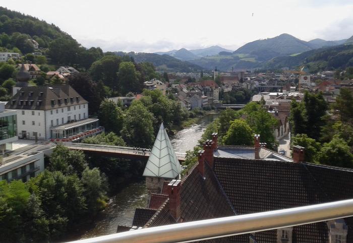 Ausztria Alsó-Ausztria várak Waidhofen