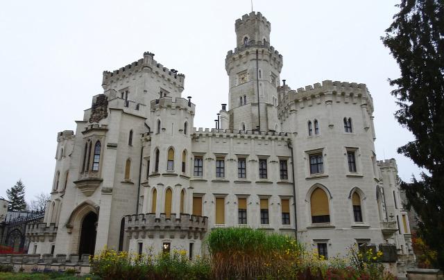 Csehország várak Hluboka
