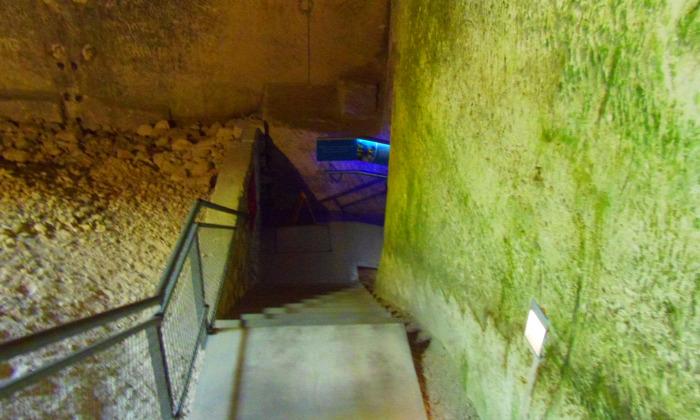 Magyarország Győr-Moson-Sopron megye Fertőrákos kőfejtő múzeum